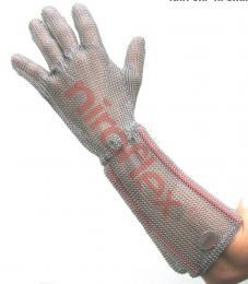 Ochrann� dr�t�n� rukavice Niroflex FIX